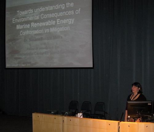 Susana Bastón Meira, ponencia en Edimburgo