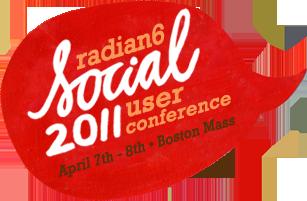 Logo de Social 2011 Radian6
