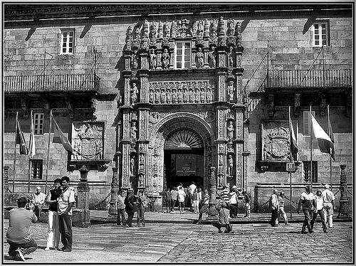 Hostal dos Reis Católicos en Santiago de Compostela
