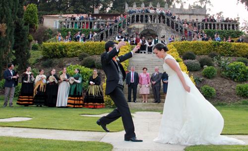Rubén Bastón en su boda 2.0