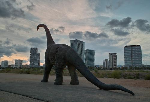 Al despertar, el dinosaurio seguía allí