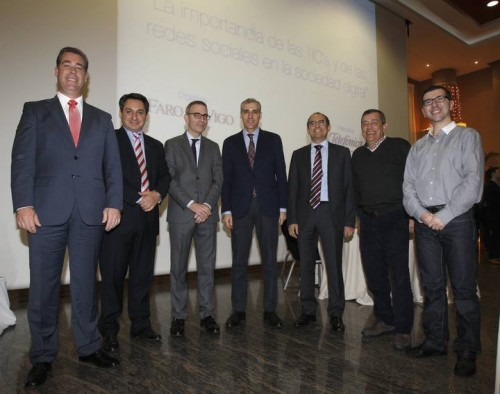 Ponentes evento SocialTICs de Faro de Vigo