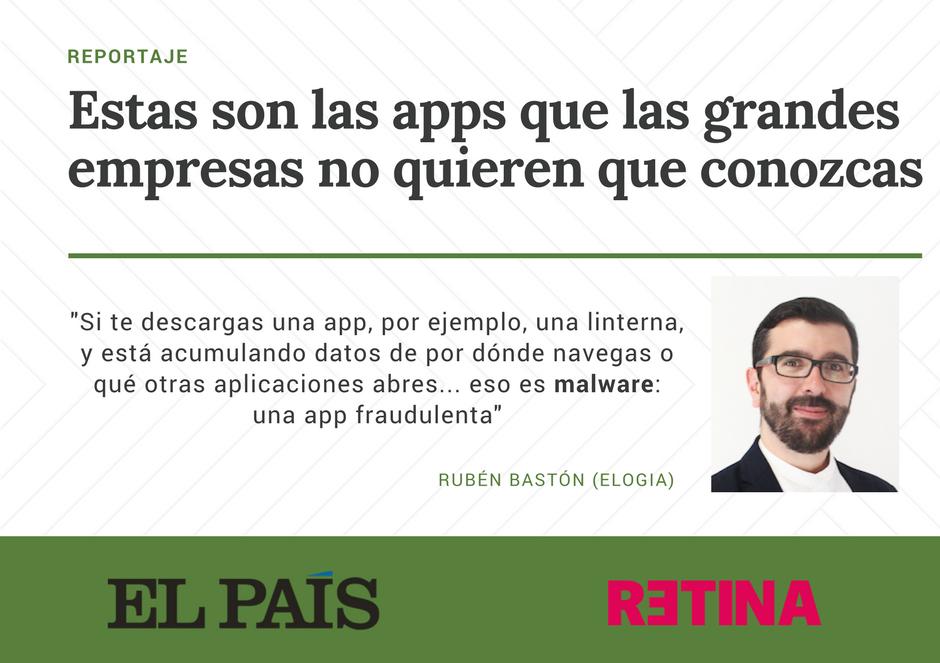 Reportaje en El País Retina sobre apps ocultas